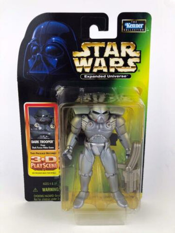 Star Wars Power of the Force 2 (POTF2) Expanded Universe Dark Trooper - Kenner