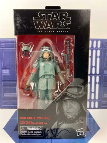 "Star Wars Black Series 6"" - Han Solo (Mimban Mud Trooper) - #78"