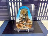 Star Wars Chrome Legacy Porg shaped sketch - Tusken Raider Floyd Sumner Floydman