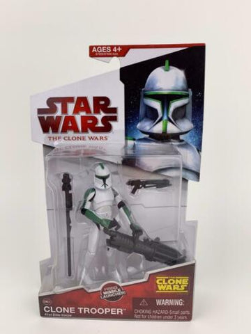 Star Wars Clone Wars (TCW) 41st Elite Corps Clone Trooper - CW04 - 2009