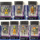 "Star Wars The Black Series 6"" Rebels Deluxe 7 Figure Bundle Set (Zeb/Ahsoka/Ezra/Kanan/Hera/Sabine/Chopper) - FREE SHIPPING"