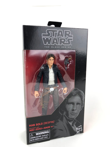 "Star Wars Black Series 6"" HAN SOLO (Bespin) #70 - Empire Strikes Back (ESB)"