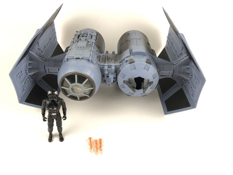Star Wars Power of the Jedi POTJ Tie Bomber Walmart Exclusive - Loose/Complete