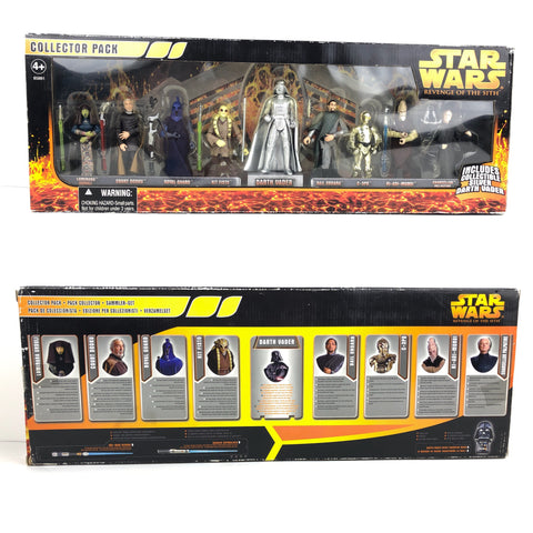 Revenge of the Sith (ROTS) Collector Pack - Set of 9 - KB Toys Exclusive