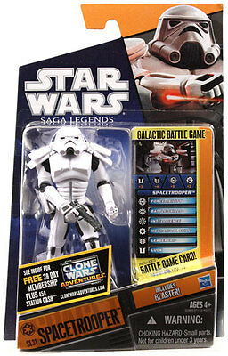 Star Wars Saga Legends Imperial Spacetrooper (Stormtrooper) SL31 - Hasbro 2011