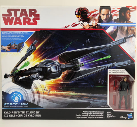 Star Wars The Last Jedi Force Link Kylo Ren's Tie Silencer