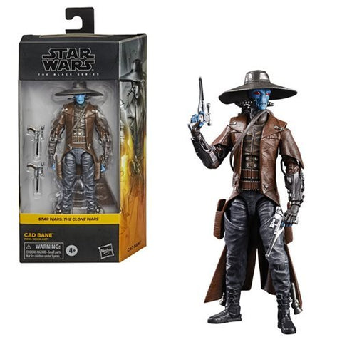 "Star Wars The Black Series 6"" - Cad Bane (The Clone Wars) - FREE SHIPPING"