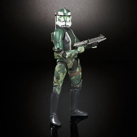 "Star Wars Black Series 6"" Clone Commander Gree"