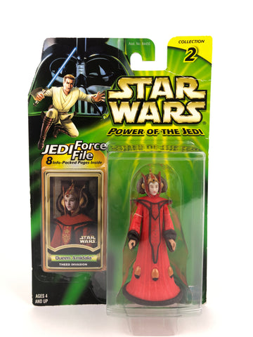 "Power of the Jedi POTJ 3.75"" Queen Amidala Theed Invasion"