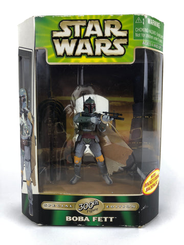 Power of the Jedi POTJ Deluxe Boba Fett 300th figure