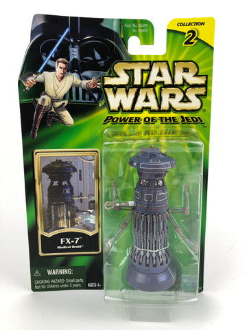 "Power of the Jedi POTJ 3.75"" FX-7 Medical Droid"