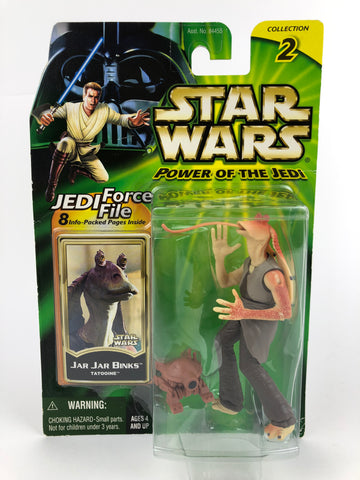 "Power of the Jedi POTJ 3.75"" Jar Jar Binks (Tatooine)"