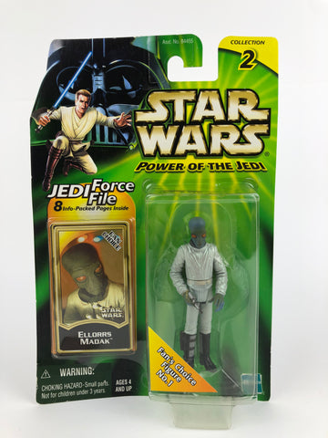 "Power of the Jedi POTJ 3.75"" Cantina Alien Ellorrs Madak Duro"