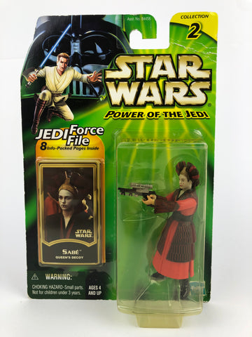 "Power of the Jedi POTJ 3.75"" Sabe Queen's Decoy"