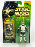 "Power of the Jedi (POTJ) 3.75"" Figure Scout Trooper Imperial Patrol (Clean)"