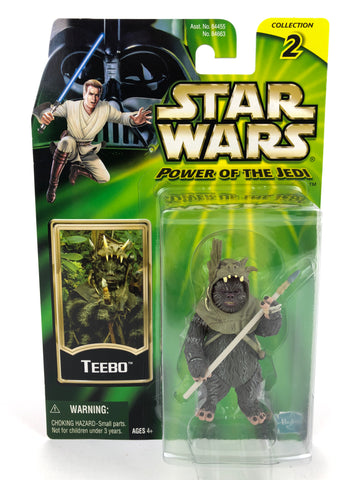 "Power of the Jedi (POTJ) 3.75"" Ewok Teebo"