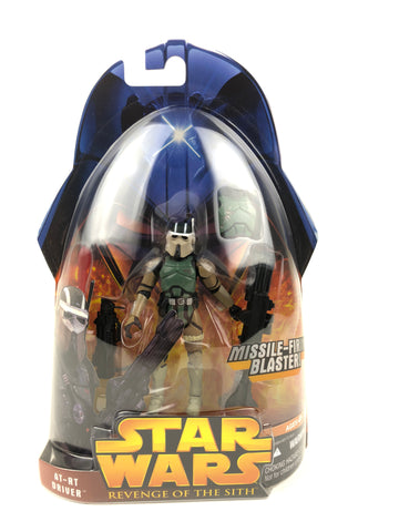 "3.75"" Figure - Revenge of the Sith (2005) - AT-RT Driver (Brown Mask Variant) - #54"