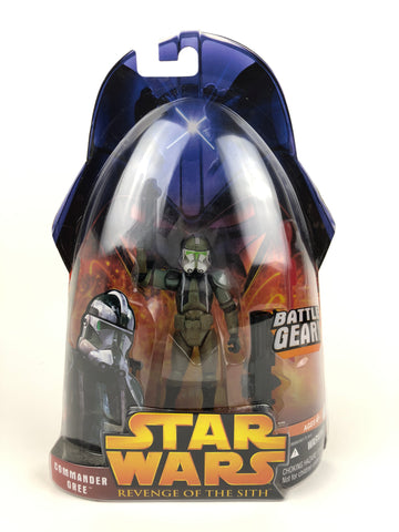 "3.75"" Figure - Revenge of the Sith (2005) - Clone Commander Gree - #59"