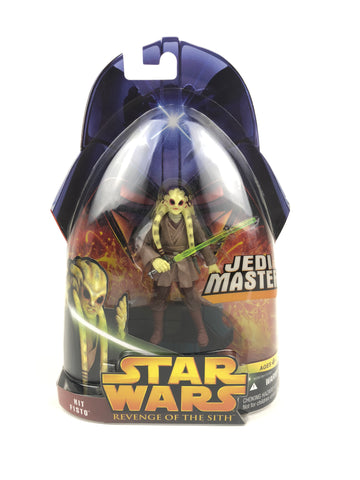 "3.75"" Figure - Revenge of the Sith (2005) - Jedi Master Kit Fisto - #22"