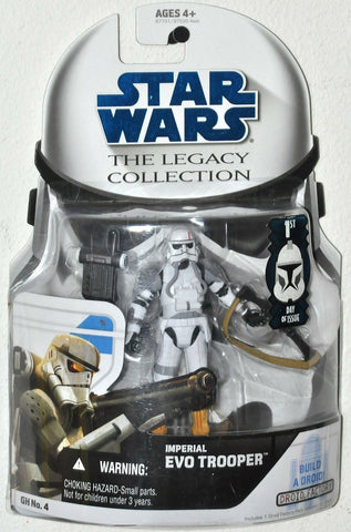 Star Wars Legacy Collection Imperial Evo Trooper (TFU) GH 4 - Droid 5D6-RA7
