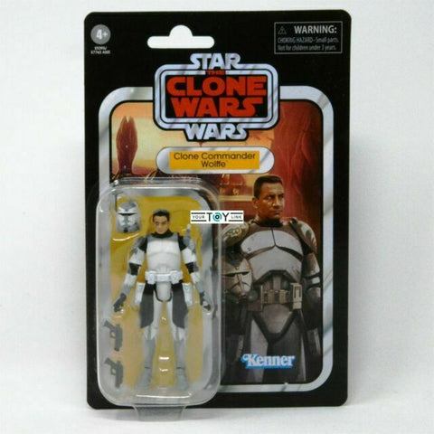 Star Wars Vintage Collection Clone Wars - Clone Trooper Commander Wolffe VC168