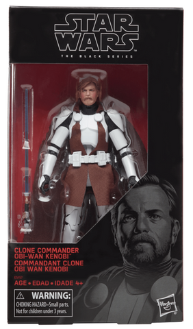 "Star Wars Black Series 6"" - Clone Commander Obi-Wan Kenobi (Walgreens Exclusive)"