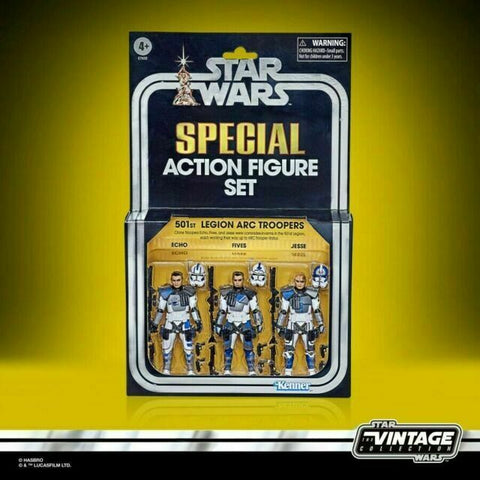 Star Wars Vintage Collection SDCC PulseCon Exclusive 501st ARC Troopers In Hand
