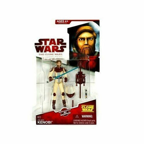 Star Wars Clone Wars (TCW) - Jedi Obi-Wan Kenobi (Space Suit Rocket Gear) - CW12