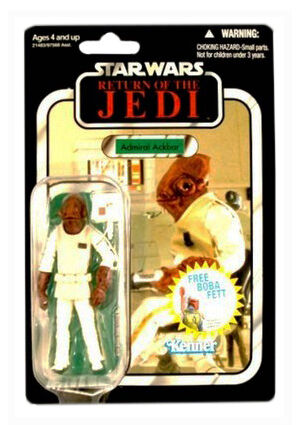 Star Wars Vintage Collection REVENGE Of The Jedi Admiral Ackbar VC22 UNPUNCHED