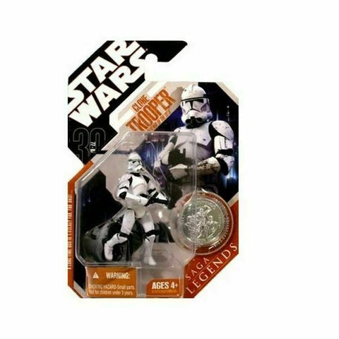 Star Wars 30th Anniversary Saga Legends Clone Trooper -Attack of the Clones AOTC