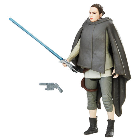 Star Wars Force Link - Rey (Island Journey) 3.75 Figure The Last Jedi (TLJ)