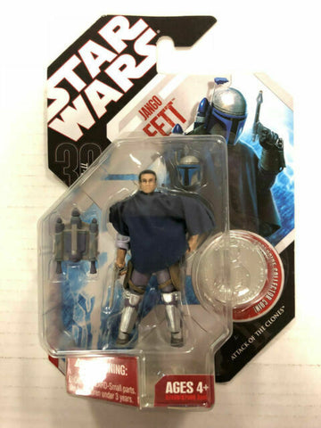 Star Wars 30th Anniversary Mandalorian Bounty Hunter Jango Fett (Poncho) #57