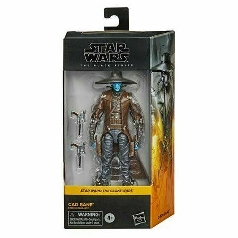"Star Wars Black Series 6"" - Cad Bane (Clone Wars) #06 - Bounty Hunter - In Stock"