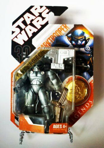 Star Wars 30th Anniversary Saga Legends Darktrooper (Stormtrooper) W/ Gold Coin