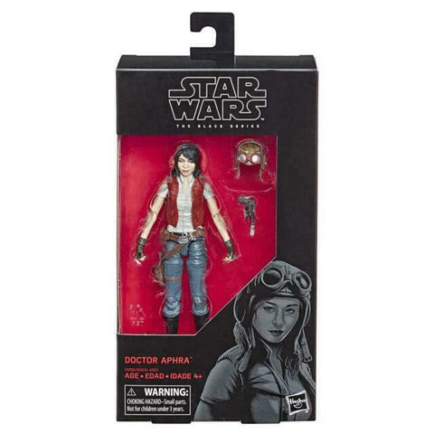 "Star Wars The Black Series 6"" Figure - Doctor Aphra - #87 - New"
