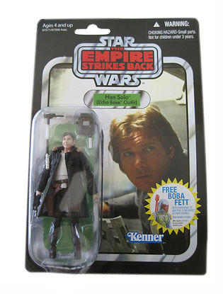Star Wars Vintage Collection ESB Han Solo (Echo Base) VC03 Boba Fett Offer 2010