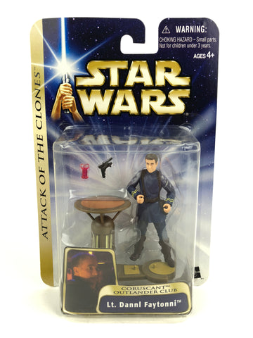"Saga Attack of the Clones - 3.75"" Figure - Lt. Dannl Faytonni #29 Outlander Club Patron"