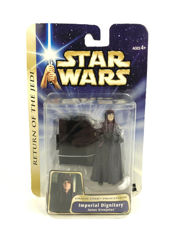 "Saga Return of the Jedi - 3.75"" Figure -  Imperial Dignitary Janus Greejatus (Death Star) #35"