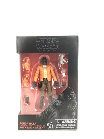 "Star Wars 3.75"" Black Series Ponda Baba"
