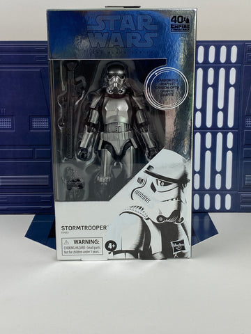 "Star Wars The Black Series 6"" Carbonized Stormtrooper - *Free Shipping*"