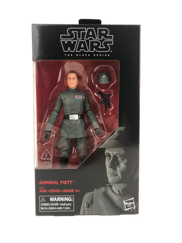 "Star Wars Black Series 6"" - Admiral Piett - Exclusive"