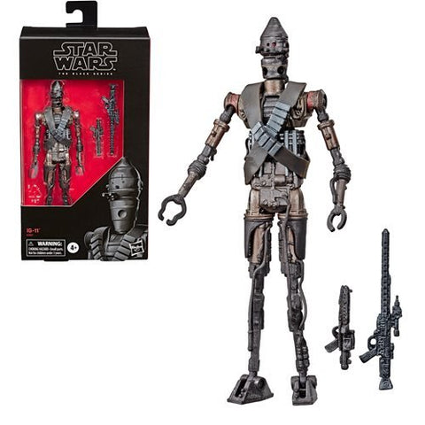 "Star Wars The Black Series 6"" - IG-11 (The Mandalorian) Exclusive - Free Shipping"