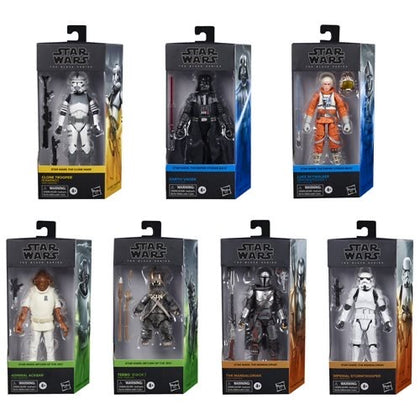 "Star Wars Black Series 6"" New Wave 1 (2020) Set of 7 Figures **Pre-Order (Expected August 2020)  - $164.88 - Free Shipping"
