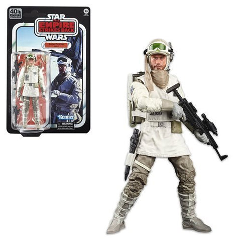 "Star Wars The Black Series 6"" - Empire Strikes Back 40th Anniversary - Hoth Rebel Trooper - FREE SHIPPING"