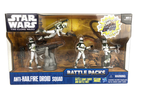 Star Wars Clone Wars Battle Packs: Anti-Hailfire Droid Squad Troopers