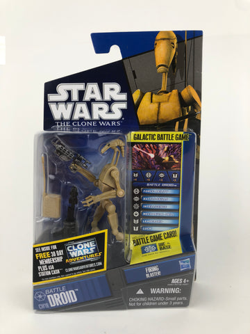 Star Wars Clone Wars (Shadows of the Dark Side) - Battle Droid - CW19