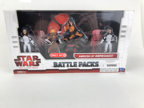 Star Wars Clone Wars Battle Packs Ambush at Abregado - Target Exclusive