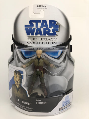 Star Wars Legacy Collection Pons Limbic BD 35 - Cantina Patron - R2-L3 Droid Factory
