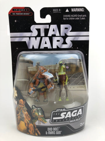 "The Saga Collection 3.75"" - Dud Bolt and Mars Guo (Pod racers) - #51"