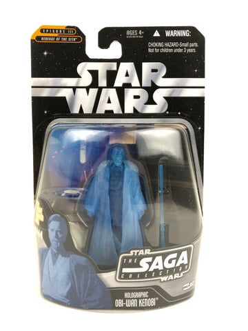 "The Saga Collection 3.75"" - Jedi Master Obi-Wan Kenobi (Holographic) - #63"